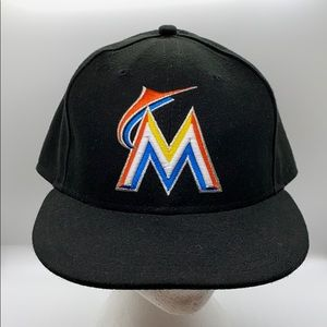 Authentic Miami Marlins fitted hat 7 3/4